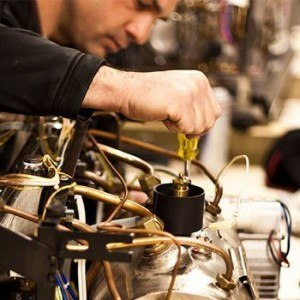 Coffee machine servicing